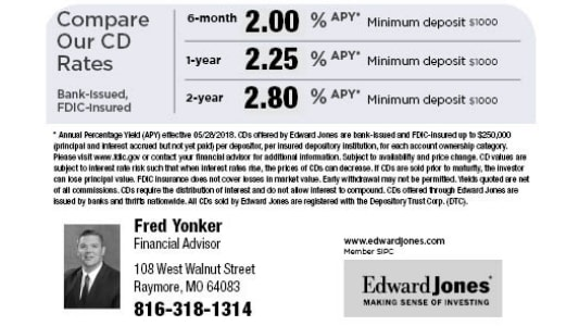 Edward Jones: Fred Yonker