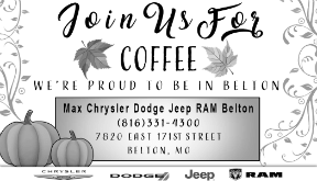 Max Motors: join us for coffee