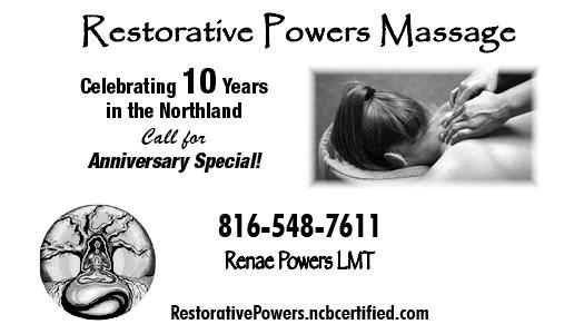 Restorative Powers Massage: Renae Powers
