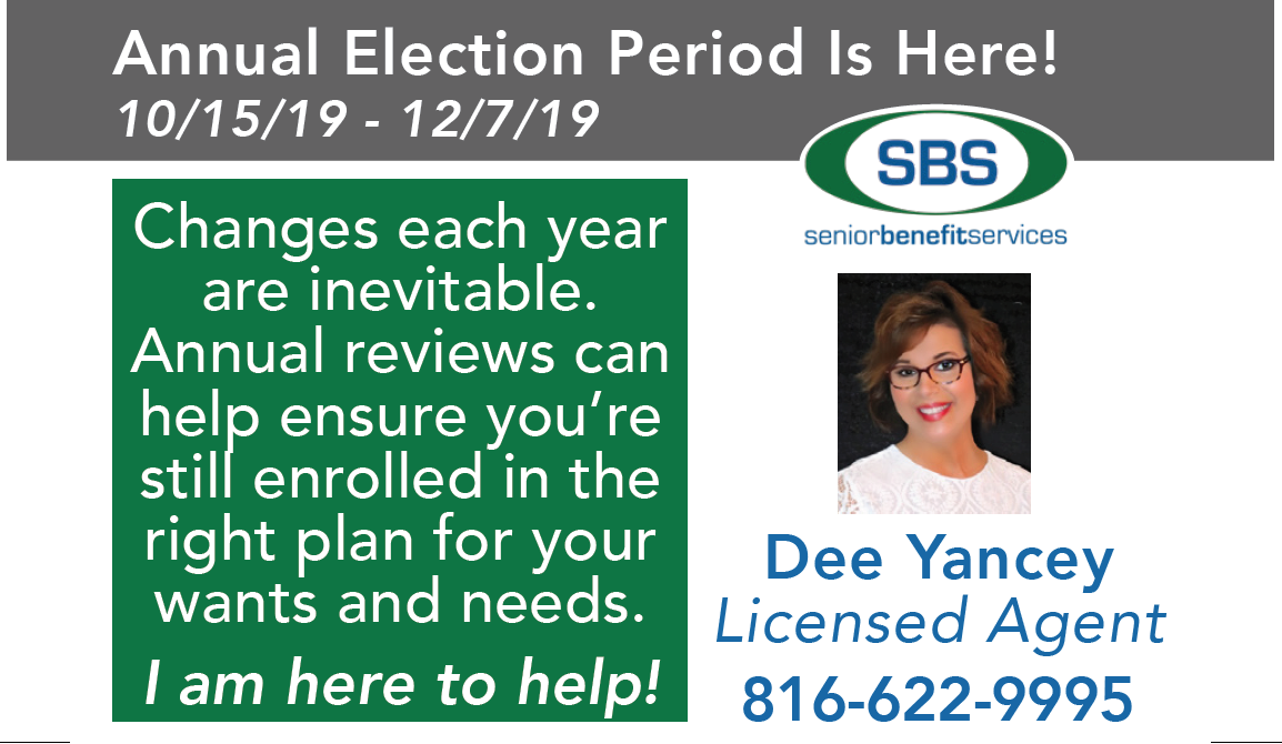 Senior Benefit Services: Dee Yancey