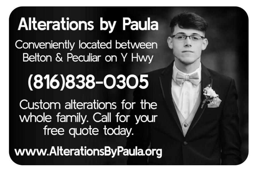 Alterations by Paula