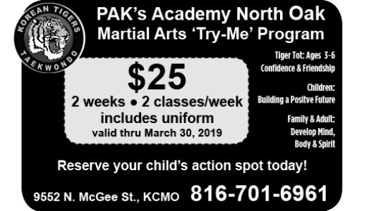 PAK's Academy North Oak